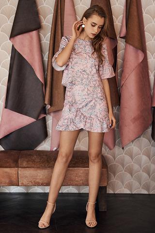 Tiania Ruffled Hem Skirt