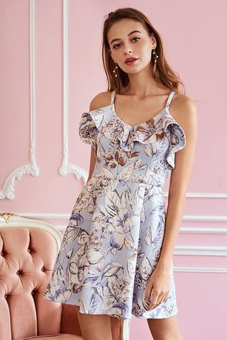 Charry Ruffled Dress