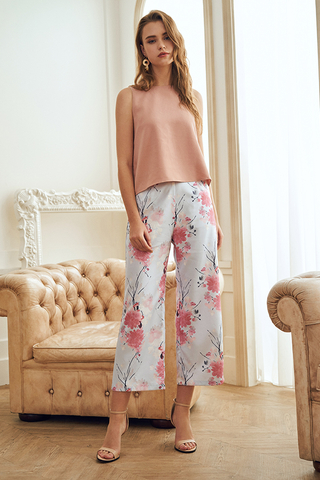 Pearlina Floral Printed Pants