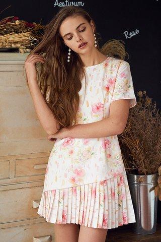 Darlenna Printed Dress