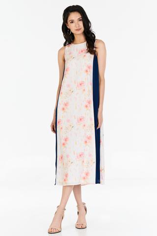 Darlenna Slit Midi Dress