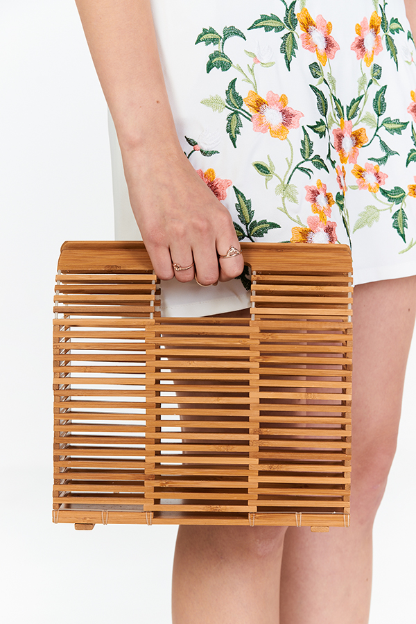 Gales Bamboo Clutch