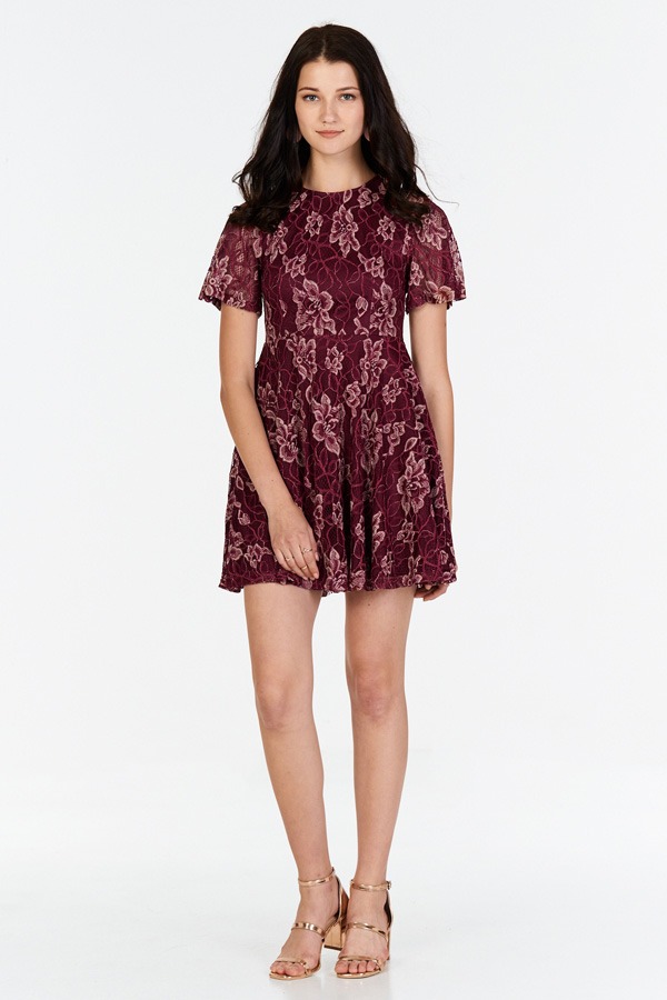 f96672c8482e ... Daena Lace Skater Dress. Hover your mouse to view bigger image Double  tap to zoom