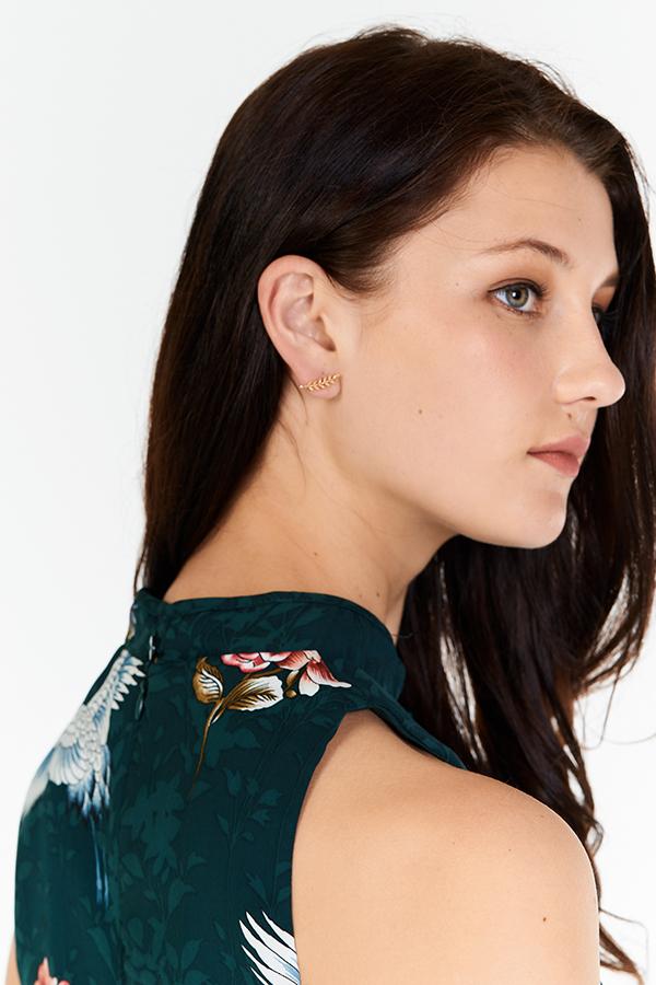 Amira Leaf Earrings
