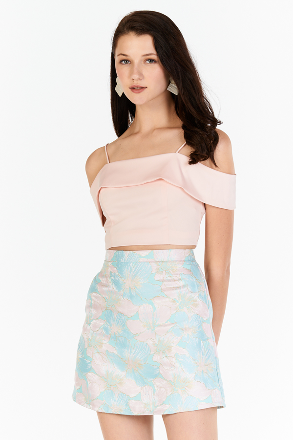 Annalise Top in Light Pink