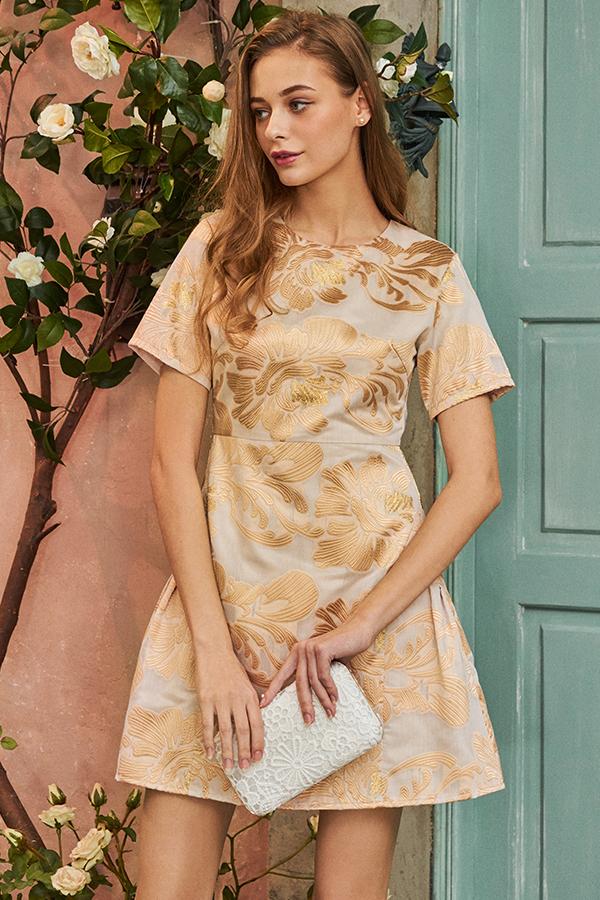 Kerensa Embroidered Dress