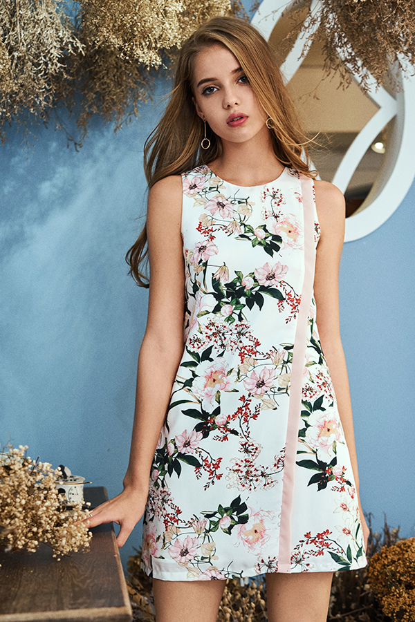 Remy Floral Printed Dress