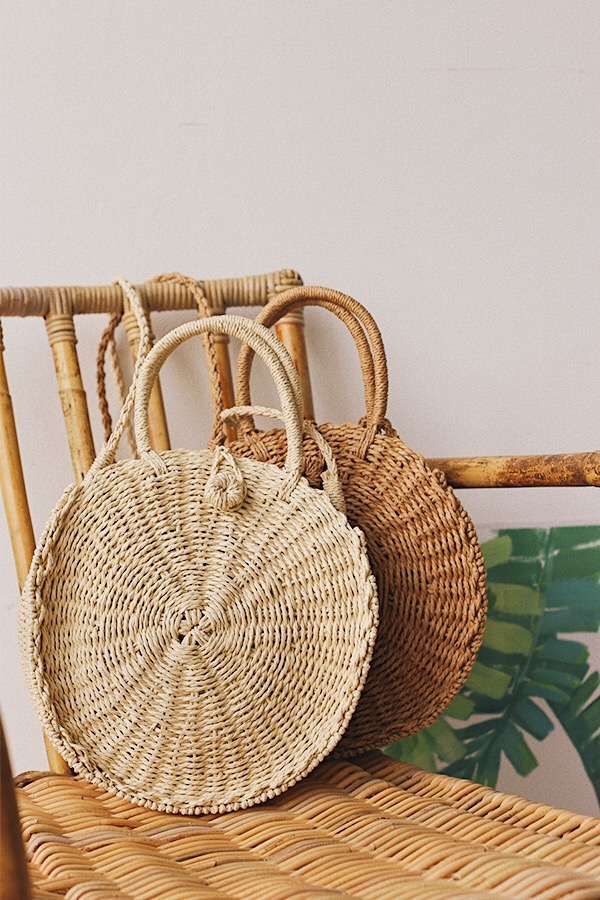 *Restock* Etta Weaved Bag in Natural