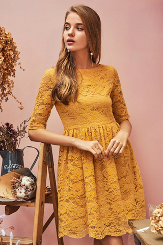 Mariella Crochet Dress