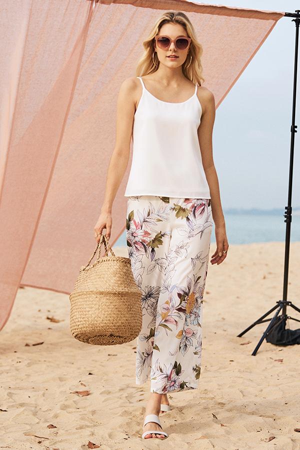 Camryn Floral Printed Pants