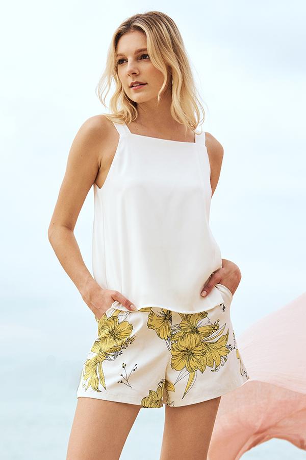 Cordelia Floral Printed Shorts
