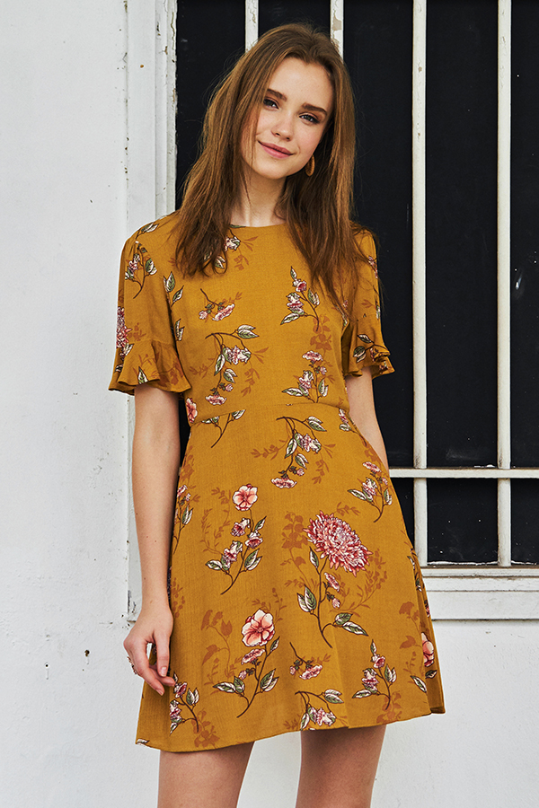 Bethan Floral Printed Dress