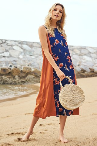 Rienne Floral Printed Maxi Dress
