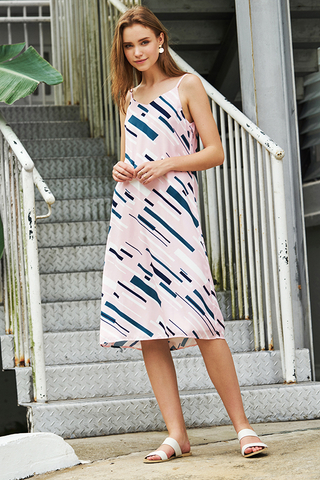 *Restock* Monet Two Way Abstract Printed Midi Dress