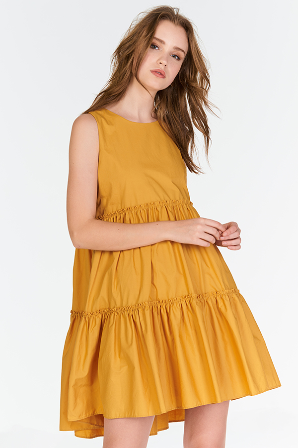*Restock* Lorene Dress in Marigold