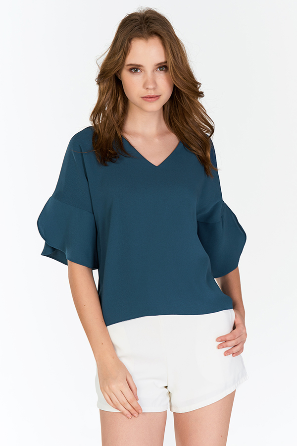 Cyrene Top in Blue