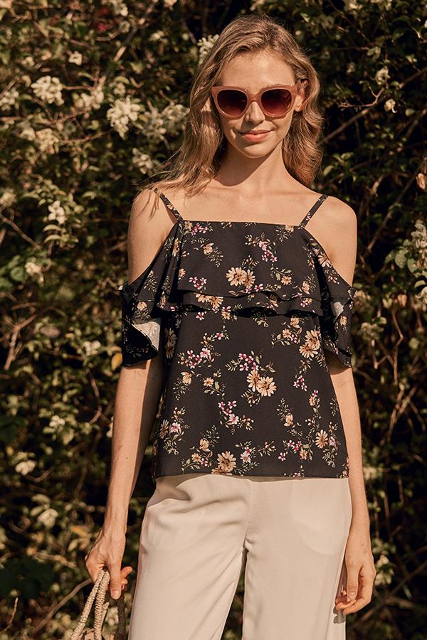 Elorra Floral Printed Top