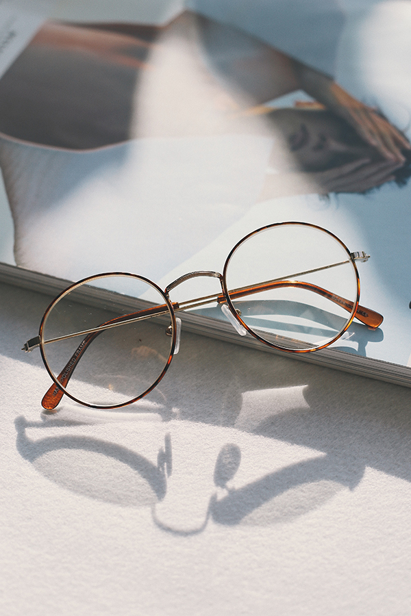 Ryleigh Spectacles in Tortoise Shell