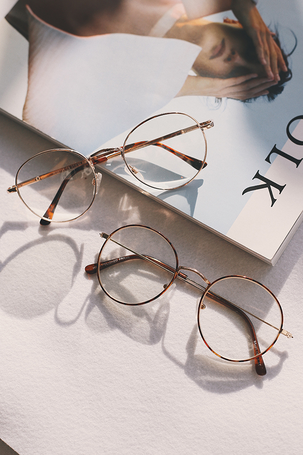 Ryleigh Spectacles in Rose Gold