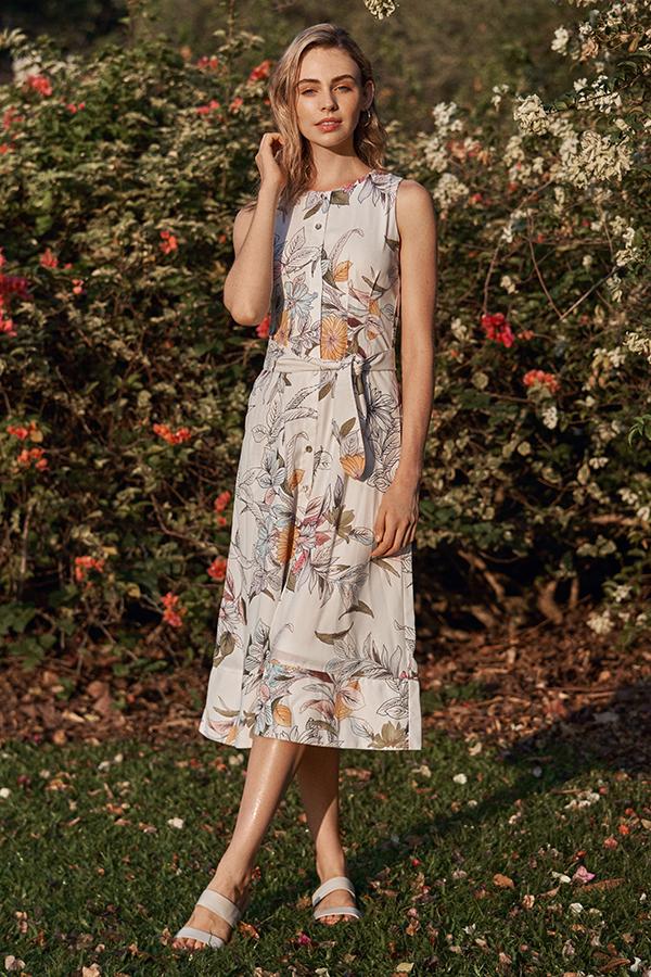 *Restock* Camryn Floral Printed Midi Dress