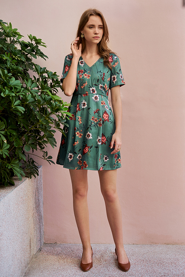 Glynnis Floral Printed Dress