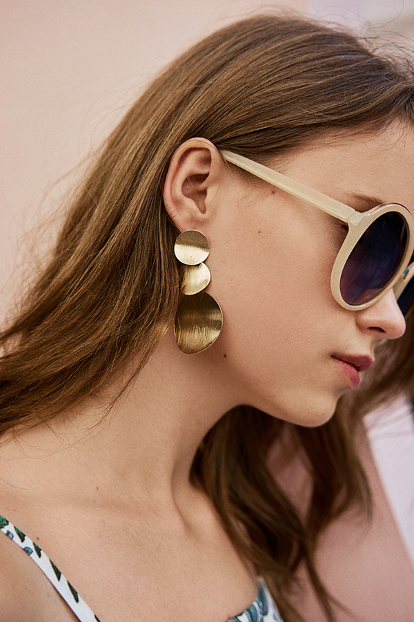 Eliza Gold Earrings
