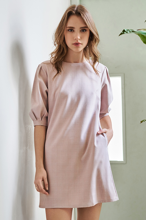 Nyla Gingham Dress