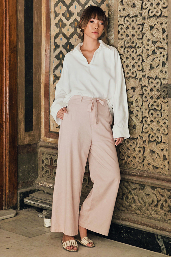 *Restock* Thebes Pants in Pink