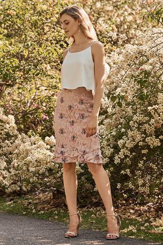 *Restock* Yanet Embroidered Skirt