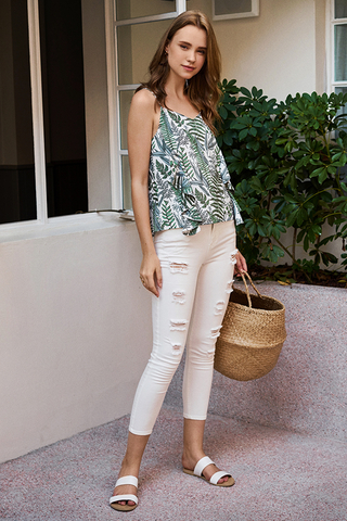 Kyla Botanical Printed Top
