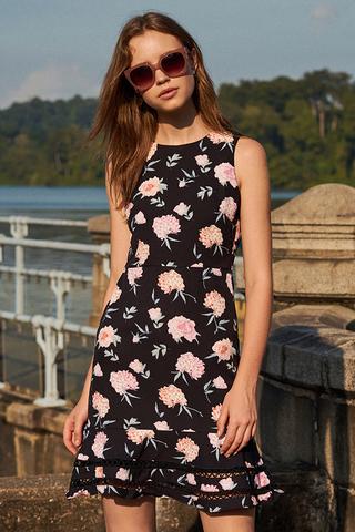 Luccia Floral Printed Dress