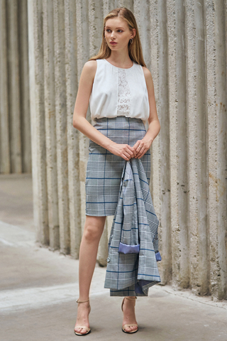 *W. By TCL* Fayre Plaids Skirt