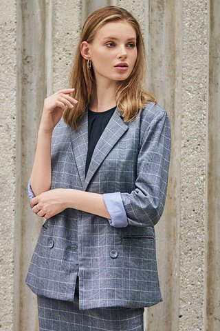 *W. By TCL* Dayana Checkered Blazer