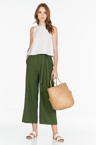 *Restock* Thebes Pants in Olive