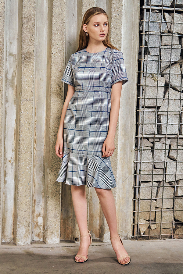 *W. By TCL* Fayre Plaids Dress