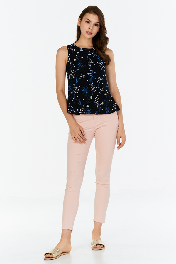 Melina Floral Printed Top