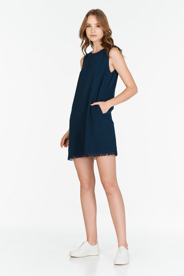 *Restock* Giza Two Way Dress in Navy