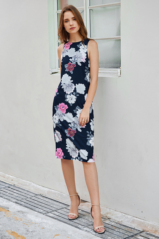 Hailyn Floral Printed Dress