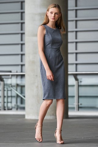 *W. By TCL* Mishal Dress in Blue