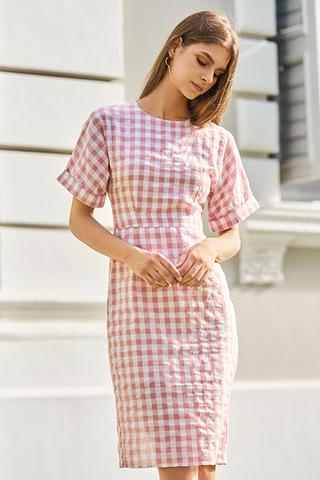 *Restock* Chijmes Gingham Midi Dress