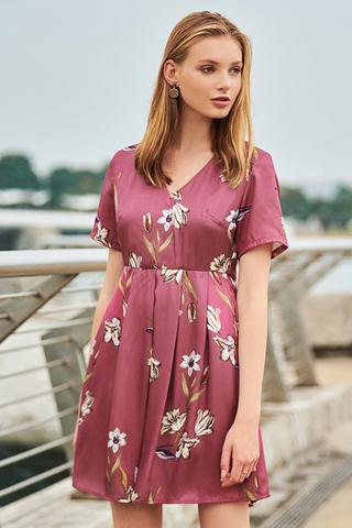Caleah Floral Printed Dress