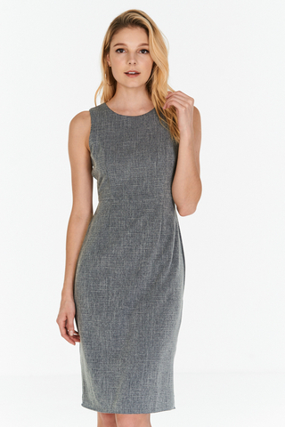 *W. By TCL* Mishal Dress in Grey