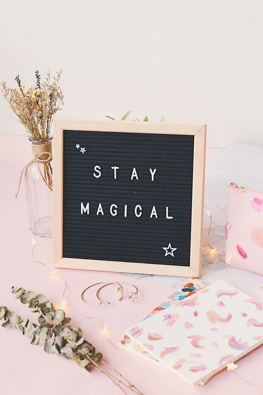 Create Your Own Quote Letter Board in Black