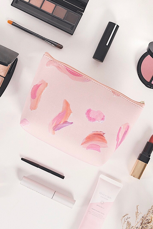 Valessia Watercolour Printed Pouch