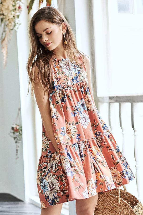 Arabelle Floral Printed Dress