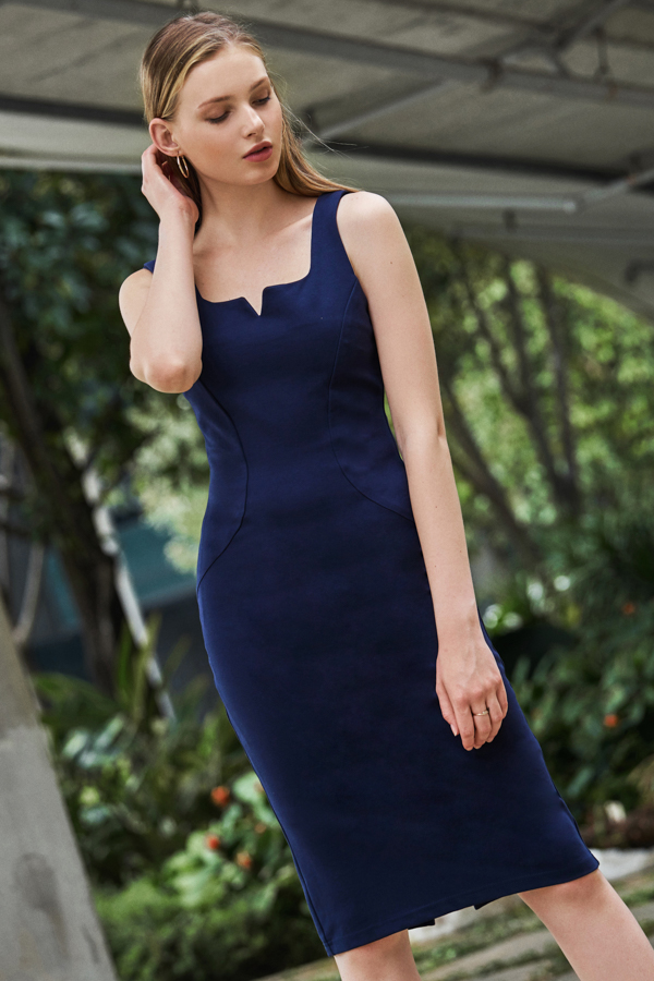 *W. By TCL* Layken Dress in Navy