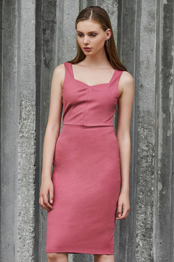 *W. By TCL* Kiely Dress in Pink