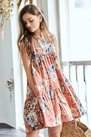 Arabelle Floral Printed Dress