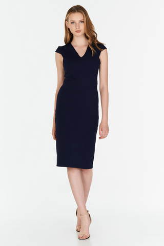 *W. By TCL* Kesha Dress in Navy