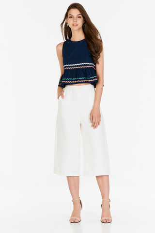 Kenslie Culottes in White